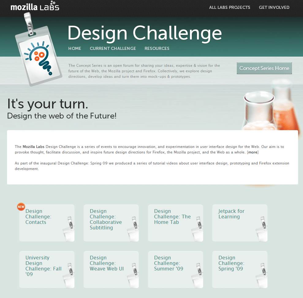 """Mozilla Labs """"Crowdsource Crowdsourcing"""" Project"""