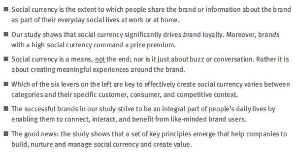 Why Every Small Business And Startup Must Understand Social Currency