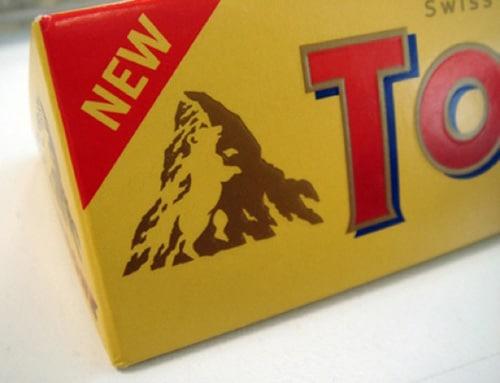 I'm in Logo Love: Toblerone Logo Design
