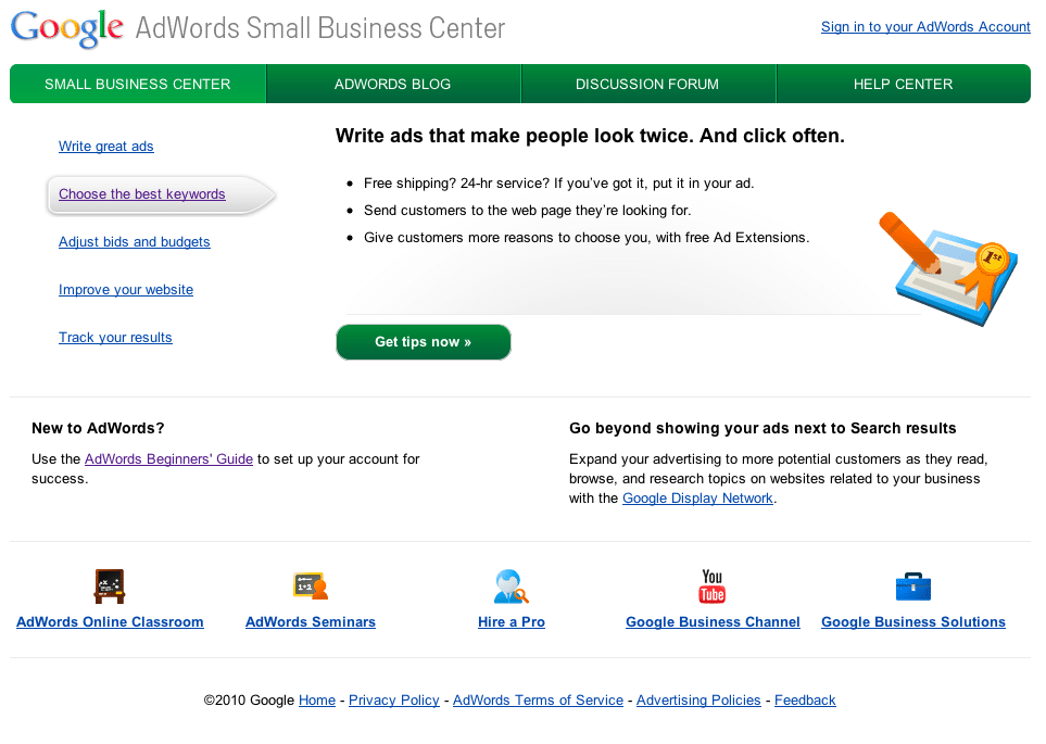 Free resources for small businesses from Google