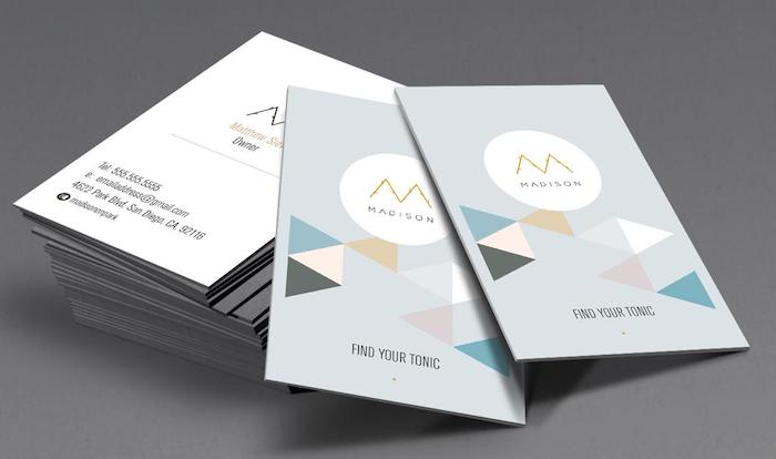 Lean Marketing tips: business card as selling tool