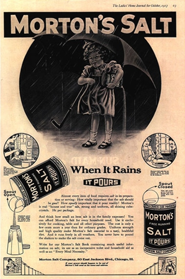 Branding and Consistency: Lessons From Morton Salt