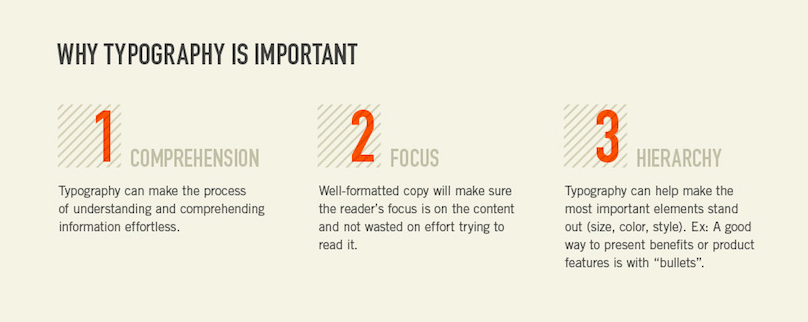 How Typography Affects Conversions and Sales