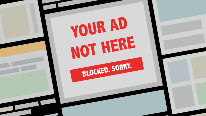 The Problem is the Advertising, Not the Ad Blocker