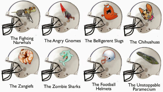 Geek Fantasy Football Names