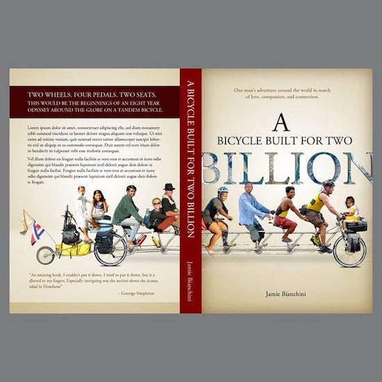 book cover for A Bicycle Built for Two Billion by Jamie Bianchini
