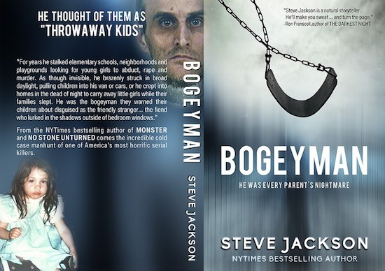 custom book cover for Bogeyman by Steve Jackson