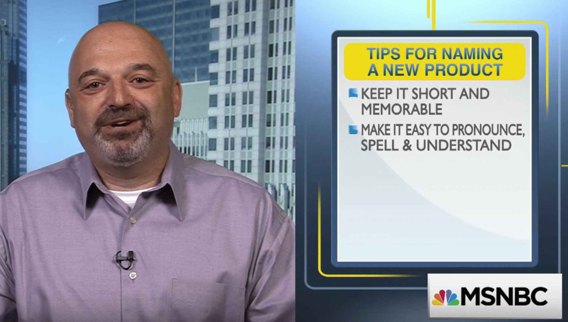 5 Tips for Naming Your New Business or Product [MSNBC Your Business]