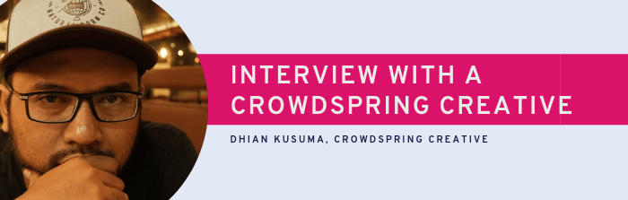 An Interview with crowdspring Designer, Dhian Kusuma