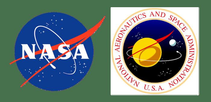 NASA insignia and seal