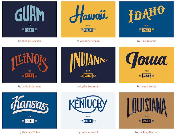 Mayor Pete Design Toolkit - States