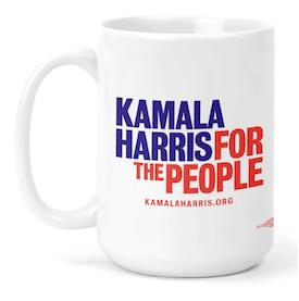 Kamala Harris Logo Mug